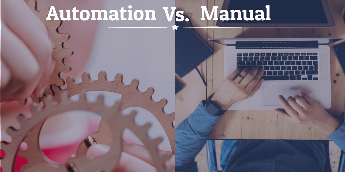 Automation Testing Vs. Manual Testing