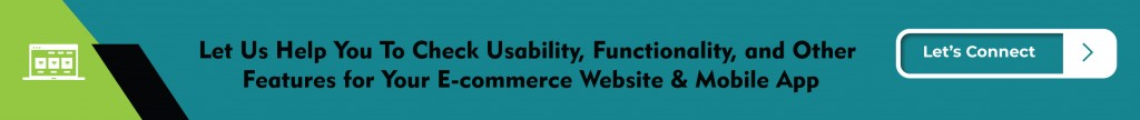 E-commerce Testing